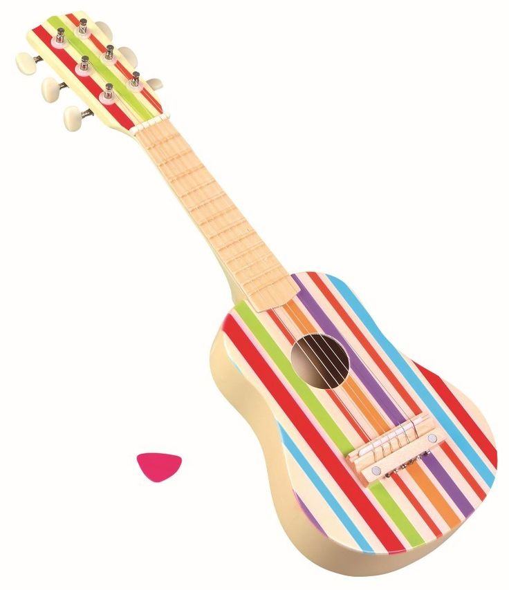 Bello Carnival Guitar. How darned cute is this?!
