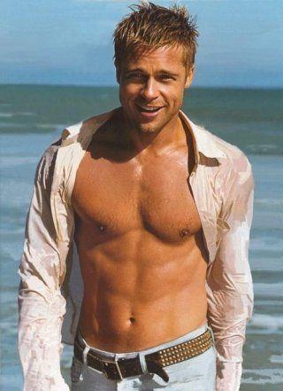 Brad Pitt 1 - Top 10 sexiest men.