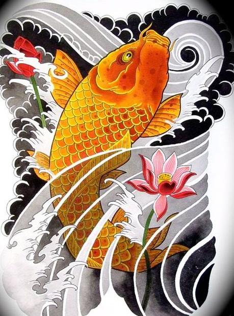 Tattoo de carpa