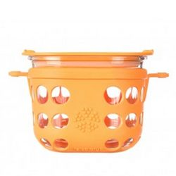 Lifefactory 2 Cup Glass Food Storage