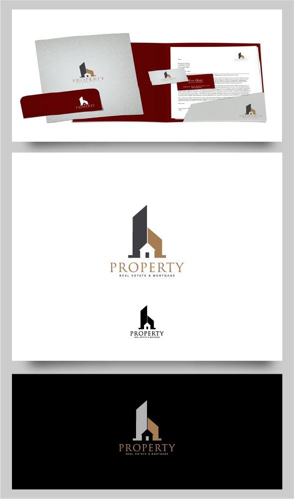 Property Real Estate & Mortgage Logo by Ahmad Dani Zaelani, via Behance