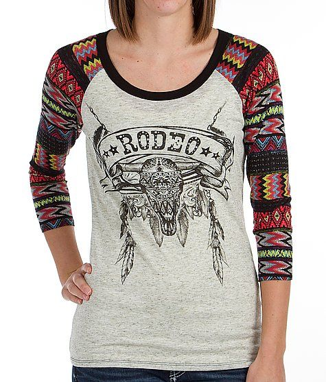 Daytrip Southwestern Print Top #buckle