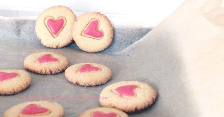 Arabafelice in cucina!: Biscotti friabili di mais, con il cuore