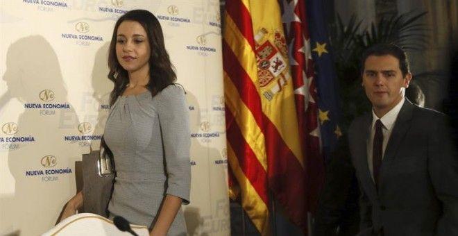 Ciudadanos refuerza su discurso antiindependentista para acallar los rumores del PP sobre Arrimadas