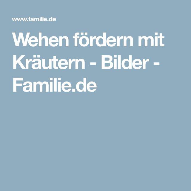 Wehen fördern mit Kräutern - Bilder - Familie.de