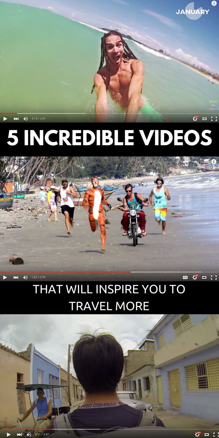 5 Incredible Travel Videos That Will Inspire You To Drop What You're Doing And See The World