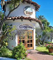 Casa Guadalajara is one of the original Mexican restaurants in Old Town San Diego. It is famous for the Bazaar Del Mundo; Latin-themed gift stores that have been a landmark in Old Town for years. Casa Guadalajara is probably the best Mexican food restaurant in Old Town, and since it is located just outside of the Old Town Historic Park The ambiance of an old Spanish hacienda, with a gorgeous sunlit garden patio .