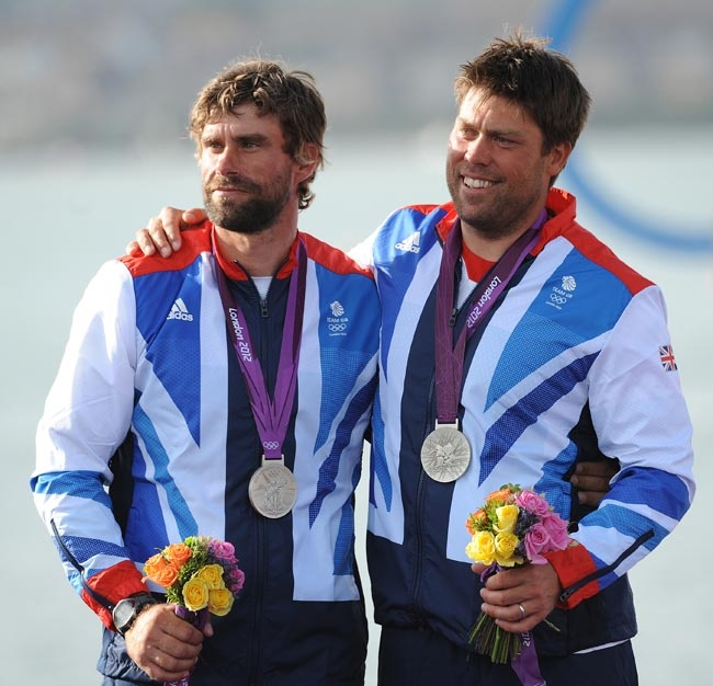 Iain Percy and Andrew Simpson – Silver Medal - Star Class Sailing