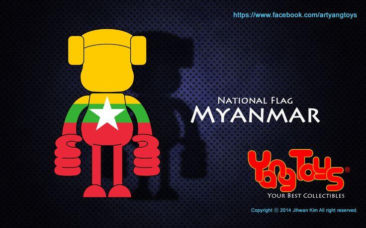 National Flags - Myanmar