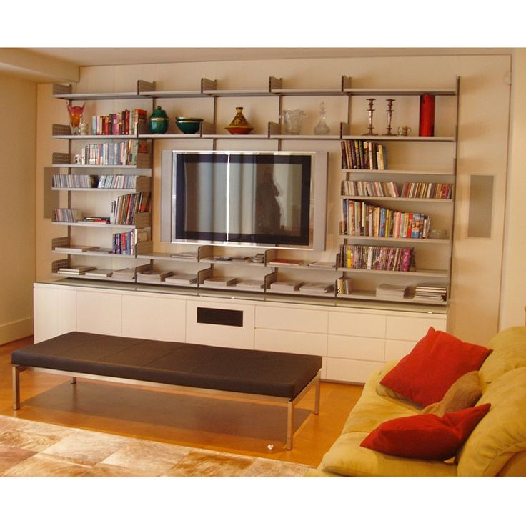 Built in Entertainment Unit by Anton Gerner - bespoke contemporary furniture melbourne