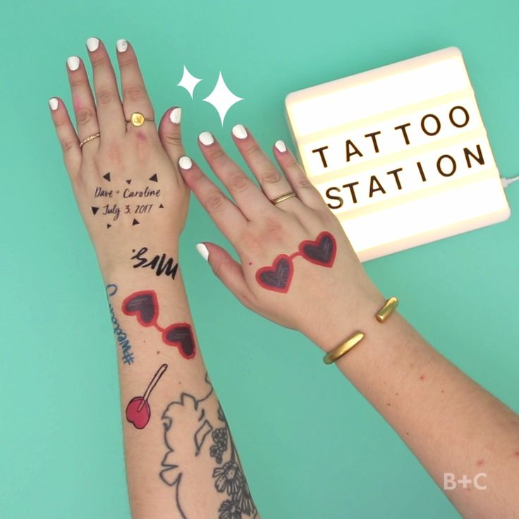 Learn how to make a set of DIY temporary wedding tattoos with this easy and creative video tutorial.