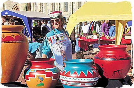 Grahamstown National Arts Festival, Eastern Cape.