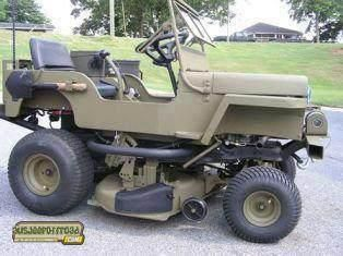 Now this is a mower!