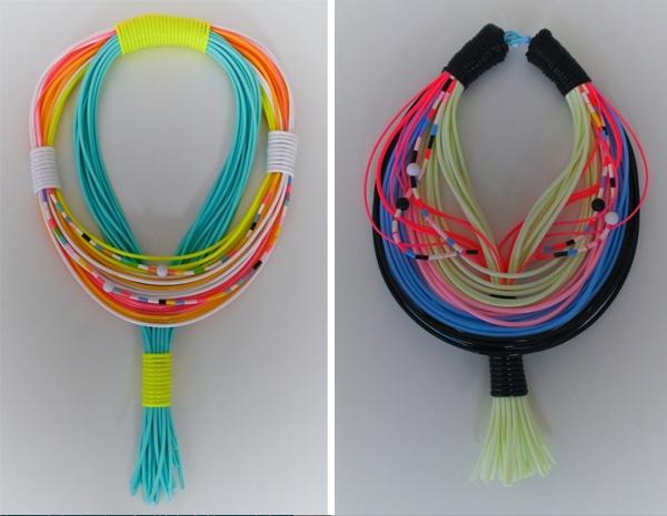 / KNOW / FEEL: Neon jewellery