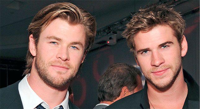 ¡Los hermanos Hemsworth llegaron para quedarse!