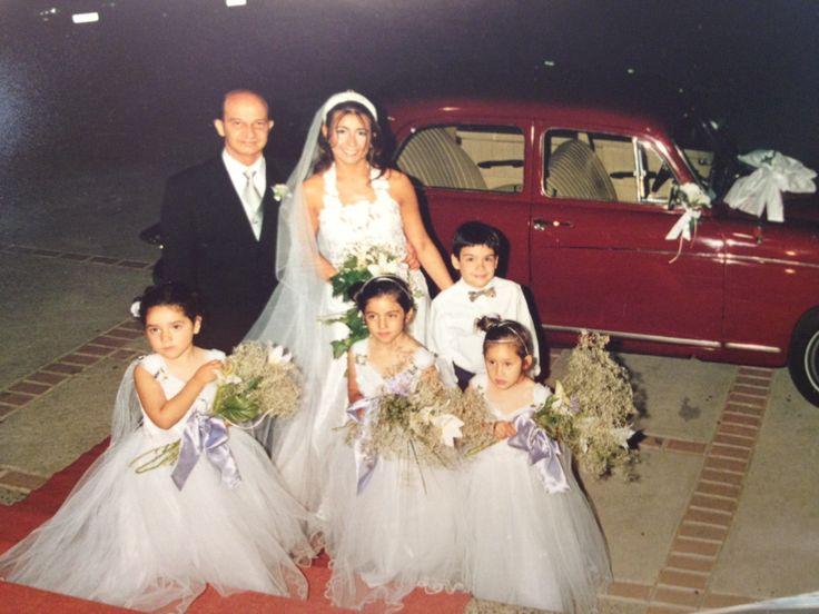 Vestido de novia de mi hija hecho por mí
