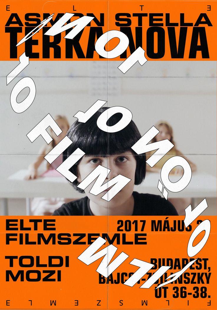 THISPOPSHITPOP! - poster for ELTE FILM FESTIVAL Budapest
