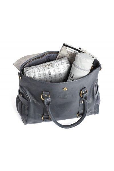byStroom GRACE Grey Changing bag
