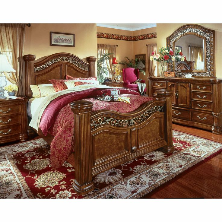 Wynwood Cordoba Mansion Bedroom Set | MASTER SUITE | King ...