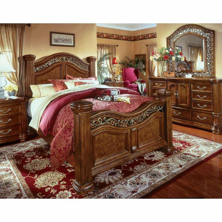 Wynwood Cordoba Mansion Bedroom Set Master Suite King