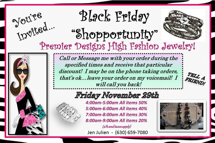 Black Friday/great idea!!