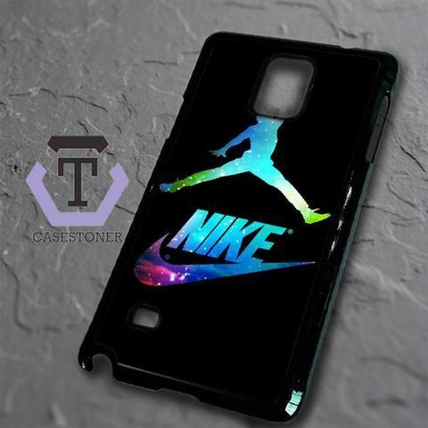 Michael Air Jordan Nike Galaxy Samsung Galaxy Note Edge Black Case