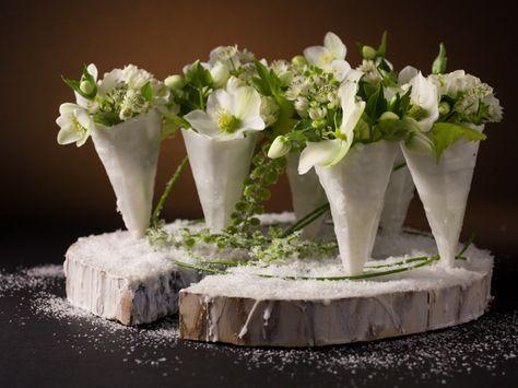 Vandaag nemen we afscheid van een groots floral designer. Om hemte eren, blikkenwe terug naar zijn tafeldecoratie voor hetinteractief internationaal