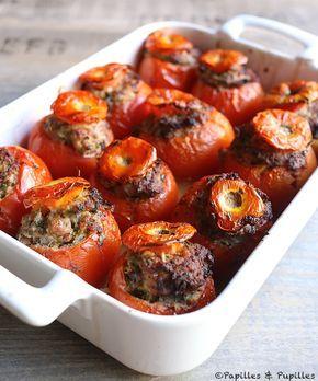 Recette tomates farcies »