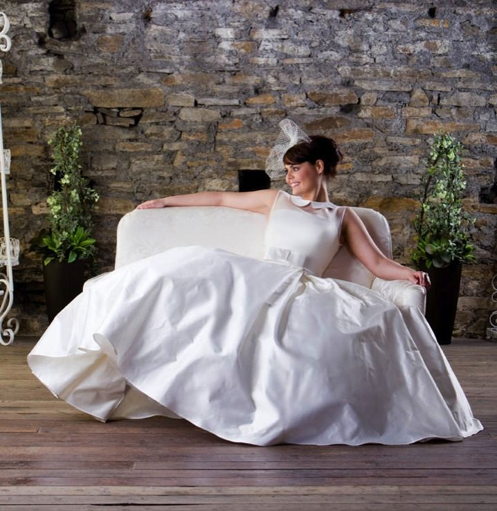 Welsh wedding dress designer inspired by the 1950s flattering feminine look. A big selection of these beautiful wedding gowns at Grace Keywords: #weddings #jevelweddingplanning Follow Us: www.jevelweddingplanning.com  www.facebook.com/jevelweddingplanning/