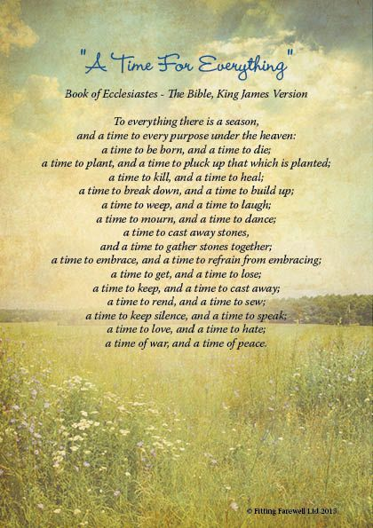 Image result for inspirational religious poems for funerals