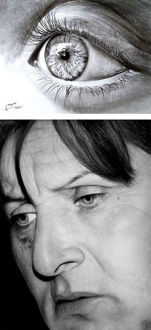 Hyper-Realistic Drawings by Diego Fazio | Inspiration Grid | Design Inspiration