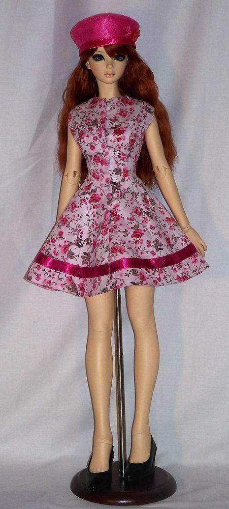 *Jeune Fille en Fleurs*   Ooak Floral Dress for Iplehouse nYID Doll