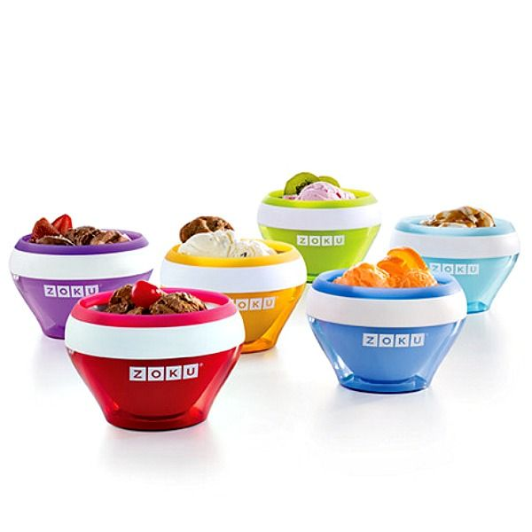 Making homemade ice cream is easier than ever with the Zoku Ice Cream Maker bowls. You can make individual portions of ice cream, custard, frozen yogurt, gelato, sorbet, or sherbet in as little as 10 minutes with the Zoku Ice Cream Maker!