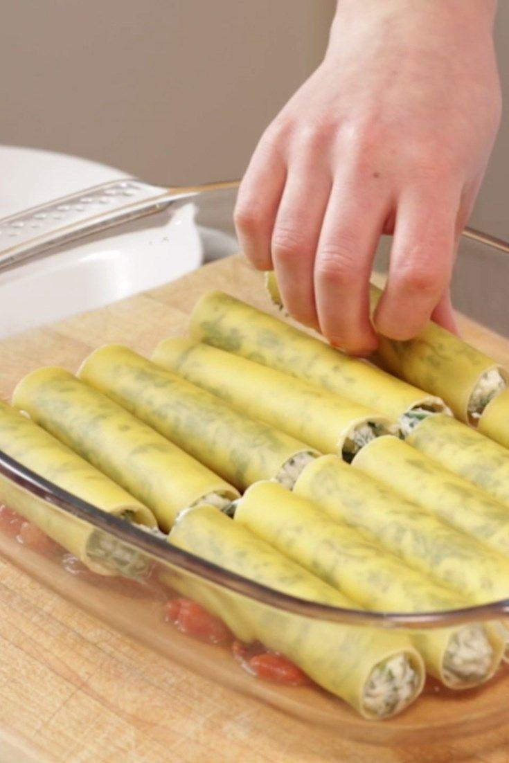 Cannelloni - makaron do zapiekania. http://womanmax.pl/cannelloni-makaron-zapiekania/