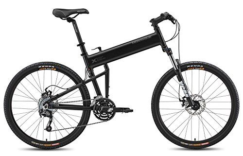 Special Offers - Montague 18-Inch Paratrooper Pro Folding Bike Matte Black - In stock & Free Shipping. You can save more money! Check It (April 24 2016 at 09:59AM) >> http://cruiserbikeswm.net/montague-18-inch-paratrooper-pro-folding-bike-matte-black/