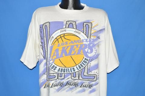 90s Los Angeles Lakers t-shirt Extra Large