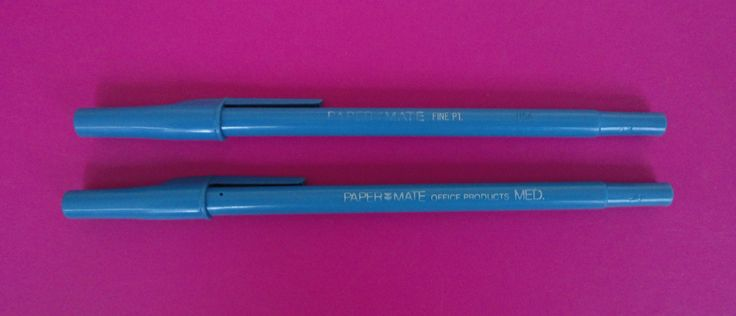 Vintage 'Paper Mate' pens / Boligrafos Paper Mate | Flickr - Photo Sharing!