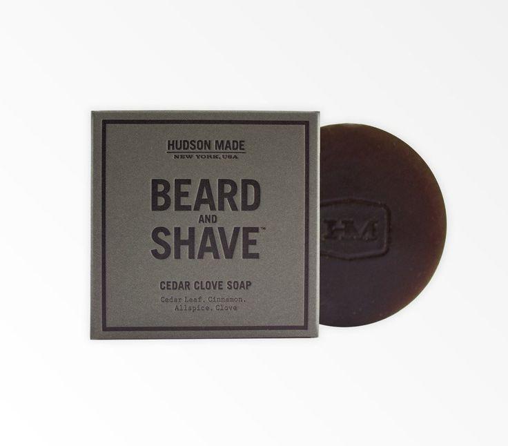 Savon pour la barbe et le rasage Cedar Clove de Hudson Made