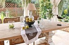 Zobacz zdjęcie dekoracyjna misa prowansalska, dekoracyjny francuski bieżnik na stół,letnia d...
