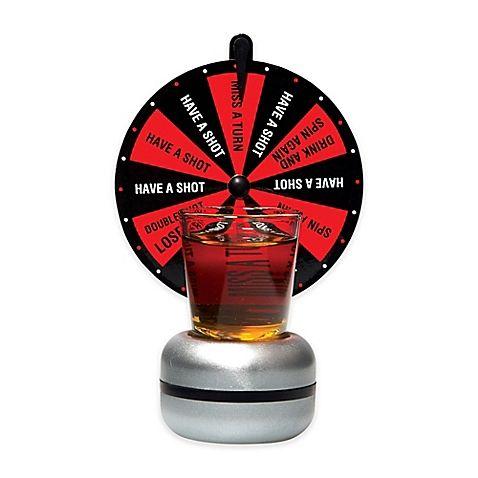 Home Essentials Beyond Wheel Of Shots Drinking Game