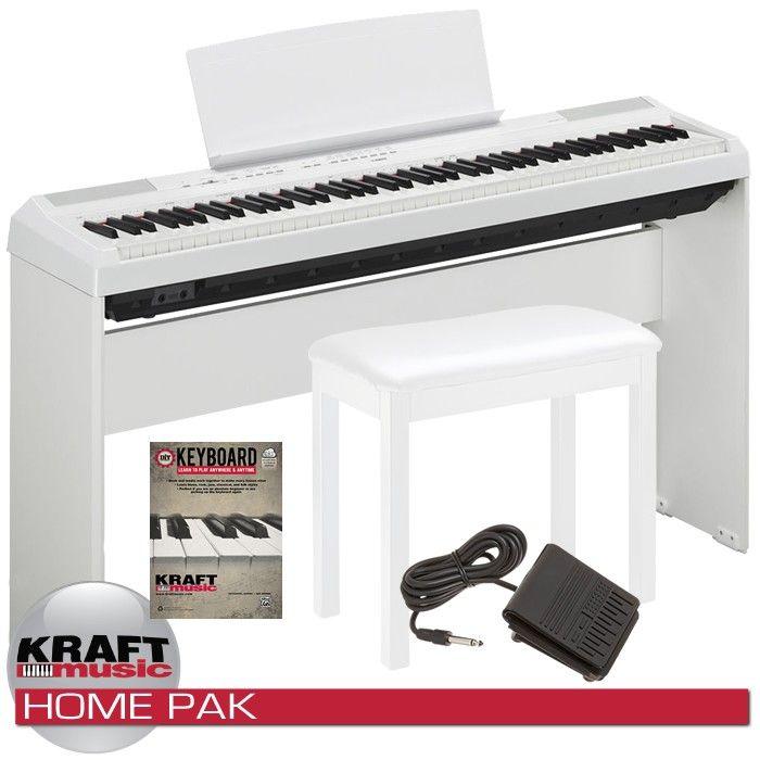 Yamaha P-115 Digital Piano - Black