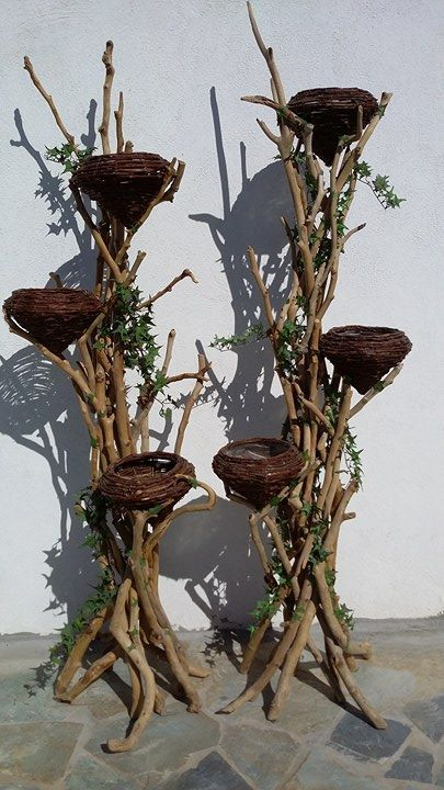 βάσεις ανθοστήλες από θαλασσοξυλα για γάμο-βάπτιση και διακόσμηση διαθέσιμες.. τελευταίο ζευγάρι λόγο τέλους αποθεμάτων των καλαθιών...ύψος 185cm..(Τα καλάθια επιδέχονται γυάλες με κεριά, φυτά ,σφουγγάρια για φρέσκα άνθη , και μπορεί να μετατραπούν σε φωτιστικά) τηλ.6976773699 ...Δεξίωση | Στολισμός Γάμου | Στολισμός Εκκλησίας | Διακόσμηση Βάπτισης | Στολισμός Βάπτισης | Γάμος σε Νησί - στην Παραλία.