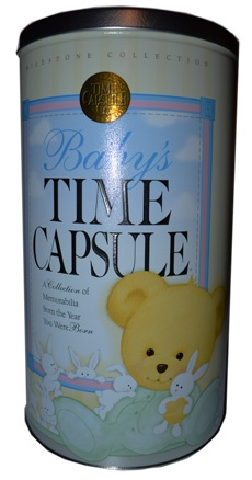 Baby Time Capsule - Baby Boy gifts