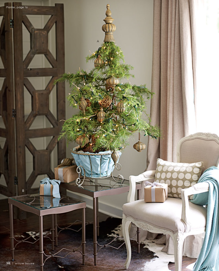 Genial Try A Tabletop Holiday Tree This Year