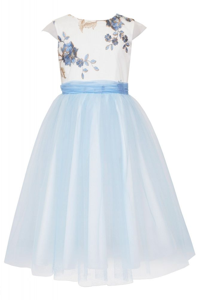 b0c03039ed sukienki dla dziewczynek Sly w kolorze błekitnym