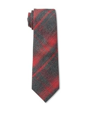 75% OFF Rival Crews Boy's Scotty Tie (Red Vintage Plaid)