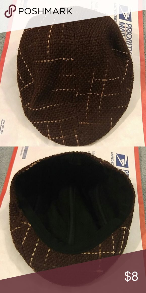 NWOT KANGOL STYLE CAP ONE SIZE BROWN NEVER WORN Accessories Hats