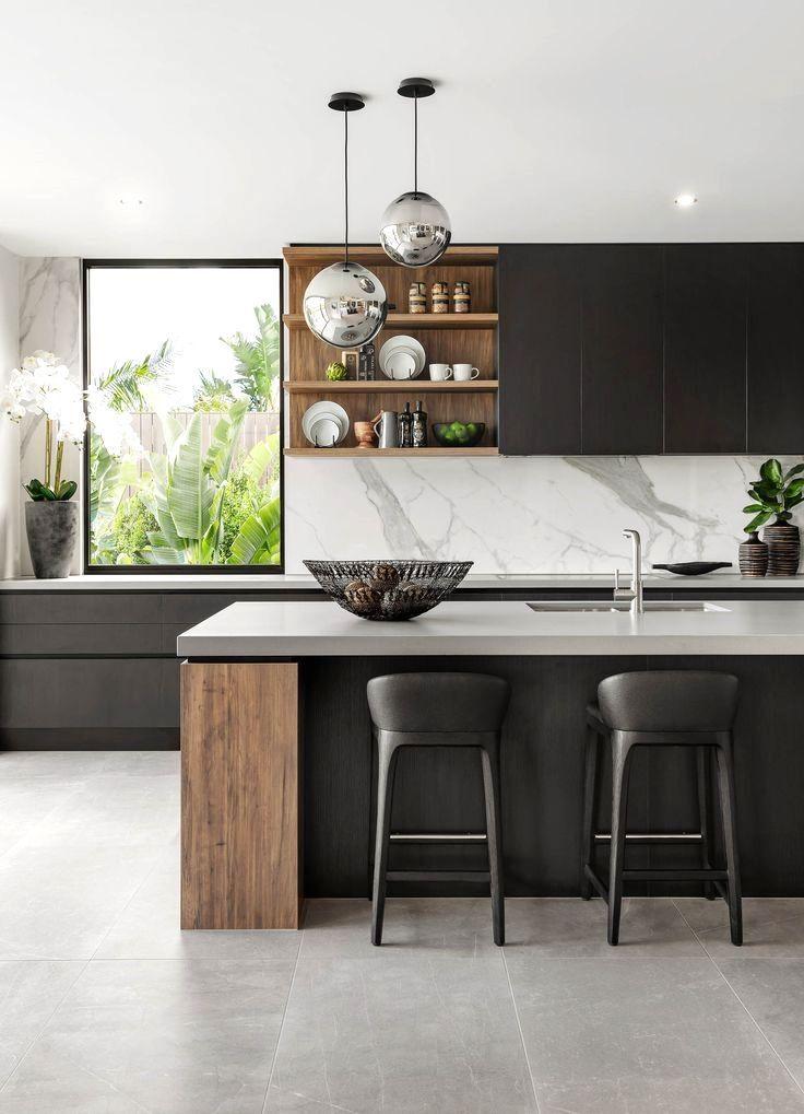 Pin By Mylene Colmar On Kitchen Design Modern Kitchen Interior
