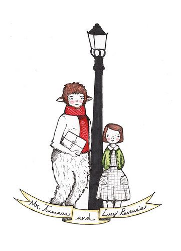 The Chronicles of Narnia, The Lion, the Witch and the Wardrobe, Mr Tumnus and Lucy--so sweet!
