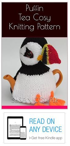 TeaCosyFolk's Puffin Tea Cosy Knitting Pattern Kindle Edition https://www.amazon.co.uk/dp/B01NAARIHS